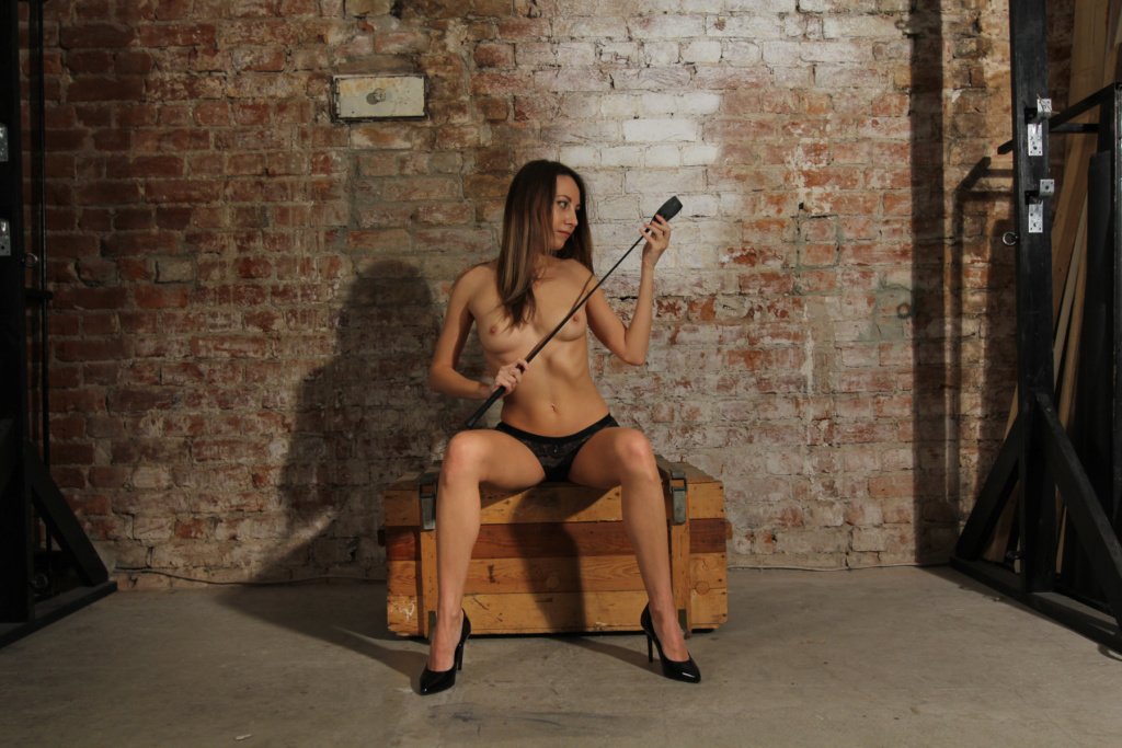Anna in BDSM place