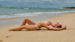 Beautiful nude playboy model