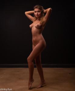Nicole Ross. Black light style