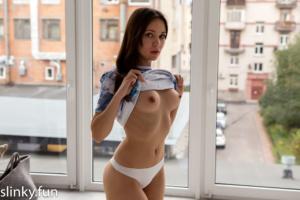 Naked Virgin Home Alone