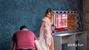 Nicole Ross model nude posing for photographer Playboy magazine photoshoot