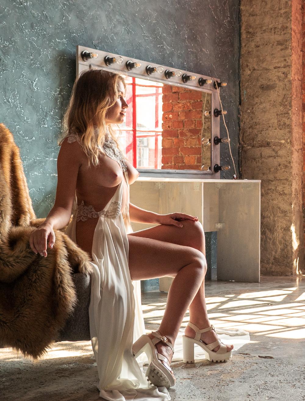 Nicole through the eyes of a Playboy photographer