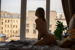 Russian model nude Katya Kliger