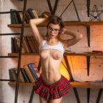 young nude model Playboy