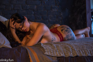 Playboy model nude photo