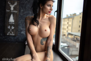 Playboy model nude Svetlana Nikonchuk erotic picture